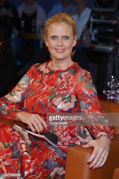 Barbara Schoeneberger during the 'NDR Talk Show' on November 30 2018 in Hamburg Germany