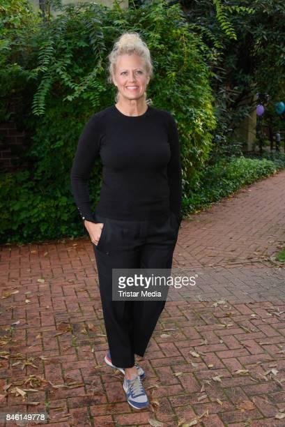 Barbara Schoeneberger during the 'Wie weit wuerdest du gehen' Charity Event on September 12 2017 near Berlin in Usedom Germany