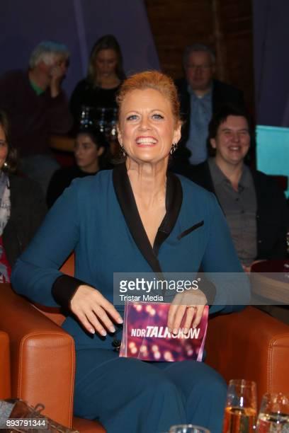 Barbara Schoeneberger during thr NDR Talk Show on December 15 2017 in Hamburg Germany