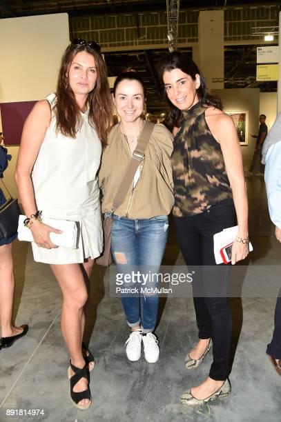 Barbara Siegler Olga Blavatnik and Elena Kiam attend Art Basel Miami Beach Private Day at Miami Beach Convention Center on December 6 2017 in Miami...