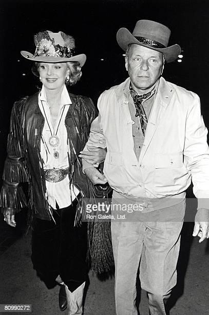 Barbara Sinatra and Frank Sinatra