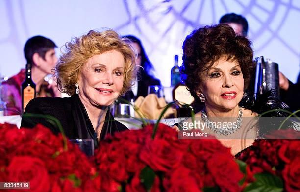 Barbara Sinatra and Gina Lollobrigida at the National Italian American Foundation 33rd Anniversary Awards at the Hilton Washington and Towers on...