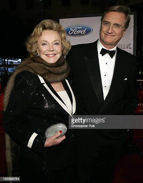 Barbara Sinatra and Son Bob Marx during Ocean's Twelve Los Angeles Premiere Arrivals at Grauman's Chineese Theater in Los Angeles California United...
