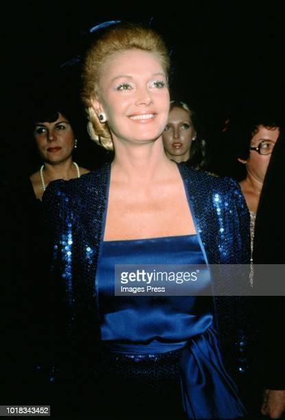 Barbara Sinatracirca 1980 in New York.