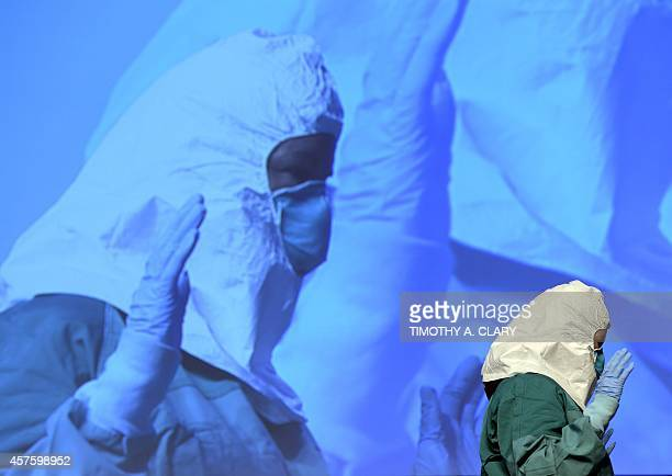 Barbara Smith RN Mount Sinai Health Systems part of the Center for Disease Control and Prevention Infection Control Team for the Ebola Response...