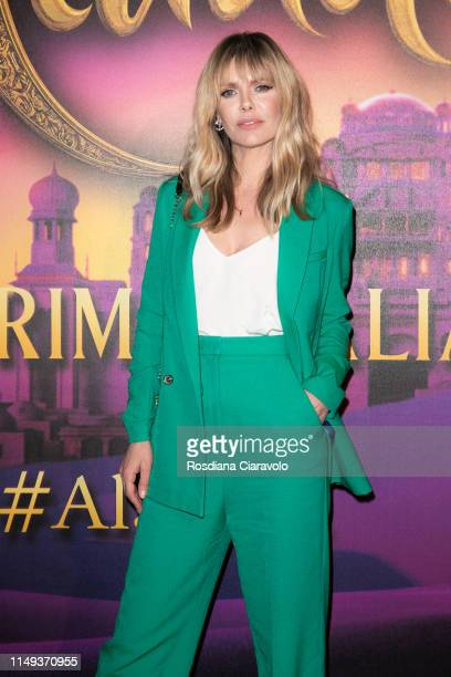 Barbara Snellenburg attends the Aladdin photocall and red carpet at The Space Cinema Odeon on May 15 2019 in Milan Italy