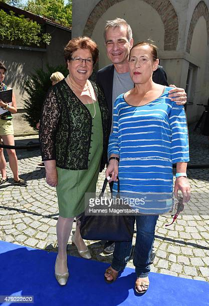 Barbara Stamm Heinrich Schafmeister and his wife Jutta attend the FFF reception during the Munich Film Festival at Praterinsel on July 2 2015 in...
