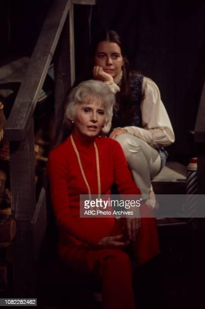 Barbara Stanwyck Kitty Winn appearing in the Walt Disney Television via Getty Images tv movie 'The House That Would Not Die'
