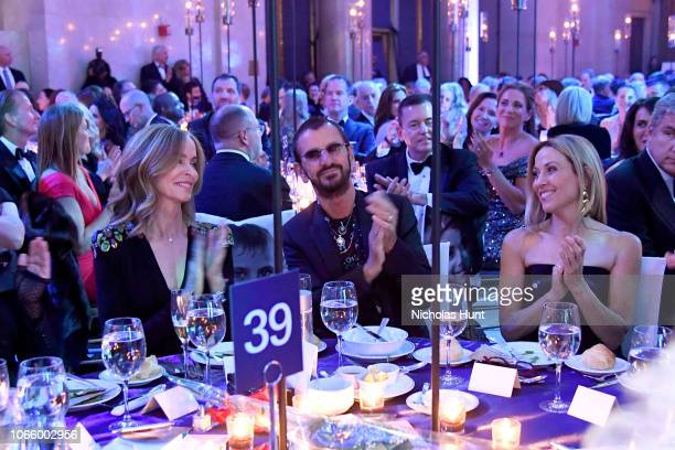 Barbara Starkey Honoree Sir Ringo Starr and Sheryl Crow attend the 14th Annual UNICEF Snowflake Ball 2018 on November 27 2018 in New York City