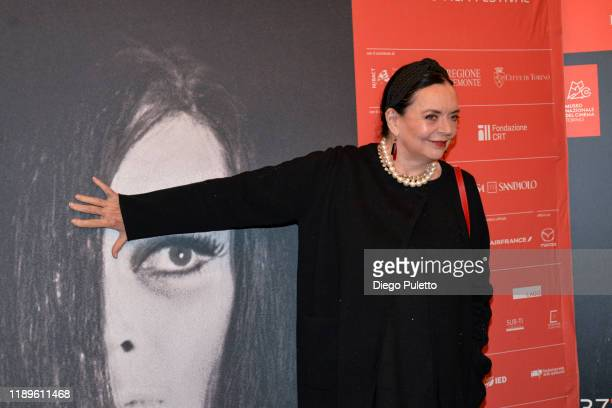 Barbara Steele attends the Opening Ceremony for the 37th Torino Film Festival on November 22, 2019 in Turin, Italy.