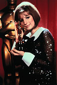 Barbara streisand holds the oscar she won for funny girl picture id515044640?s=170x170