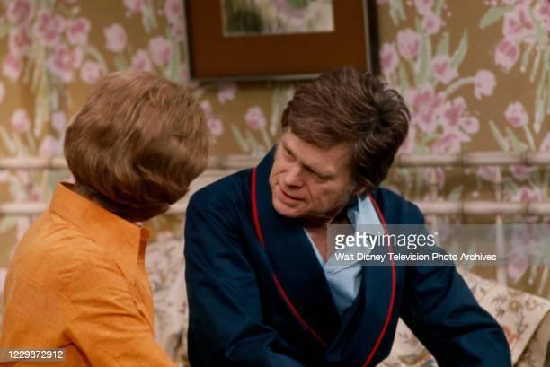 Barbara Stuart, Barry Nelson appearing in the ABC tv series pilot 'Mason'.