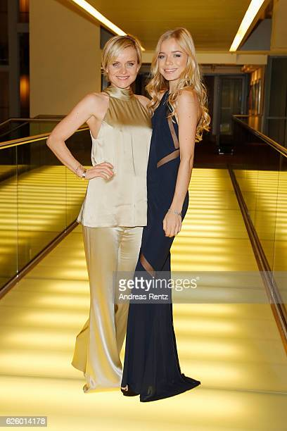 Barbara Sturm and her daughter Charly Sturm attend the charity event dolphin aid gala 'Dolphin's Night' at InterContinental Hotel on November 26 2016...