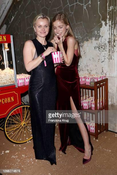 Barbara Sturm and her daughter Charly Sturm during the Bulgari party with the motto #Starsinbulgari on February 7 2019 in Berlin Germany