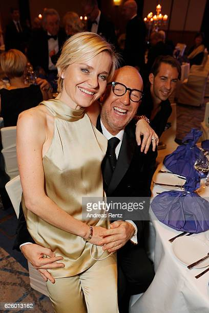 Barbara Sturm and Thomas Rath attend the charity event dolphin aid gala 'Dolphin's Night' at InterContinental Hotel on November 26 2016 in...