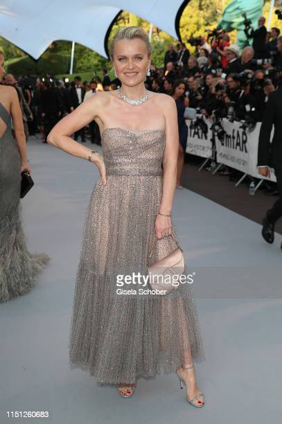 Barbara Sturm attends the amfAR Cannes Gala 2019 at Hotel du CapEdenRoc on May 23 2019 in Cap d'Antibes France