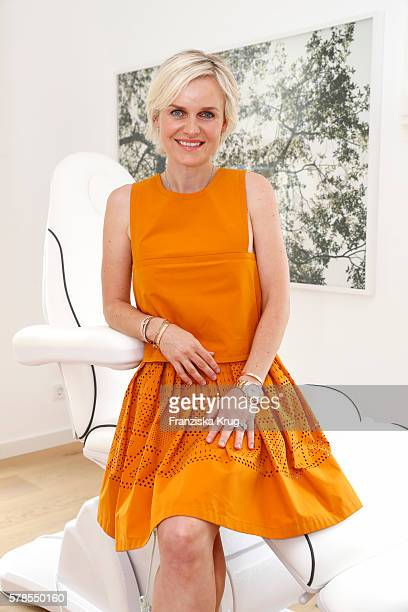 Barbara Sturm attends the 'Dr Barbara Sturm NetAPorter' Dinner Party on July 21 2016 in Munich Germany