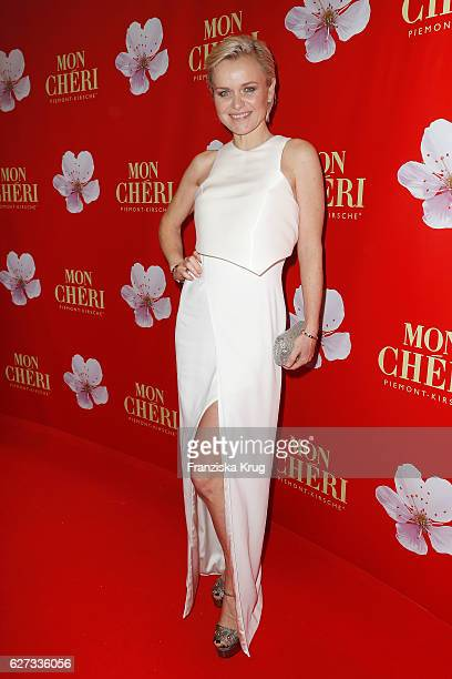 Barbara Sturm attends the Mon Cheri Barbara Tag at Postpalast on December 2 2016 in Munich Germany