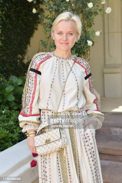 Barbara Sturm attends Valentino Sponsors HEART Annual Brunch on April 24 2019 in Los Angeles California