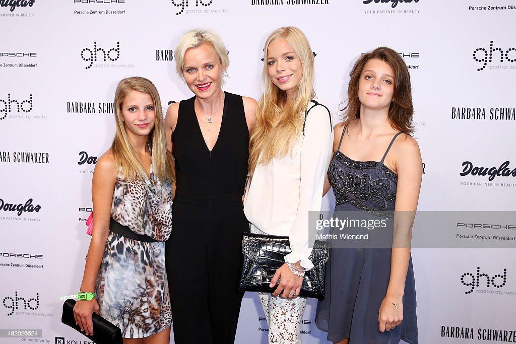 Barbara Schwarzer Arrivals - Platform Fashion July 2015 : News Photo