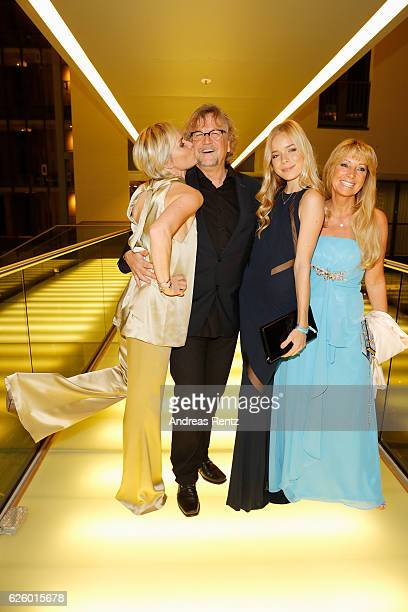 Barbara Sturm Martin Krug Charly Sturm and Angela van Moll attend the charity event dolphin aid gala 'Dolphin's Night' at InterContinental Hotel on...