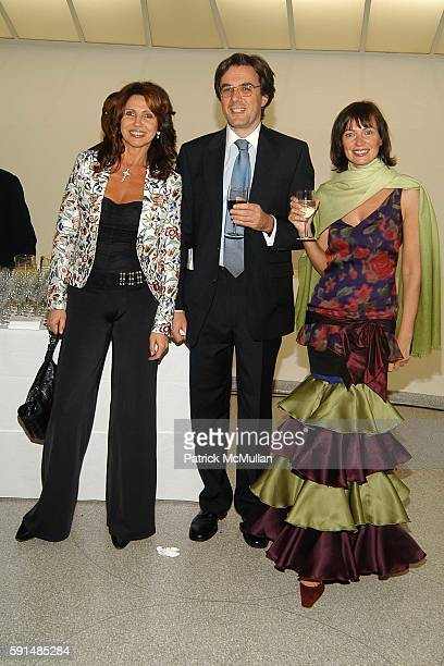 Barbara Suttora, Mauro Suttora and Lucia Debrilli attend Cocktail Party and Dinner to Celebrate the Renowned Italian Drug Rehabilitation Center ' San...