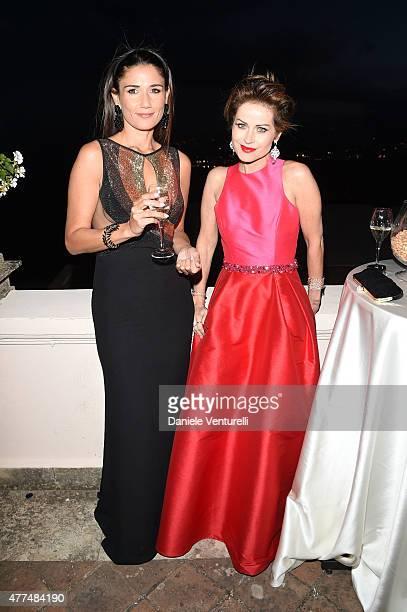 Barbara Tabita and Chantal Sciuto attend Day 5 of the 61st Taormina Film Fest on June 17, 2015 in Taormina, Italy.