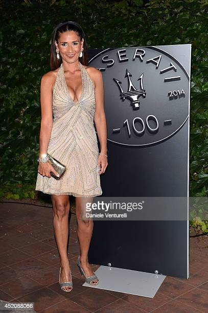 Barbara Tabita attendes Day 1 of Maserati At Ischia Global Fest on July 12 2014 in Ischia Italy