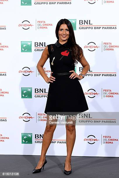 Barbara Tabita attends a photocall for 'Mariottide' during the 11th Rome Film Festival at Auditorium Parco Della Musica on October 16, 2016 in Rome,...
