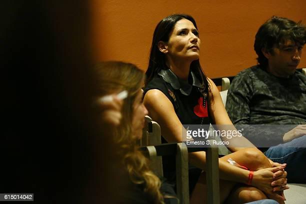 Barbara Tabita attends a press conference for 'Mariottide' during the 11th Rome Film Festival at Auditorium Parco Della Musica on October 16, 2016 in...