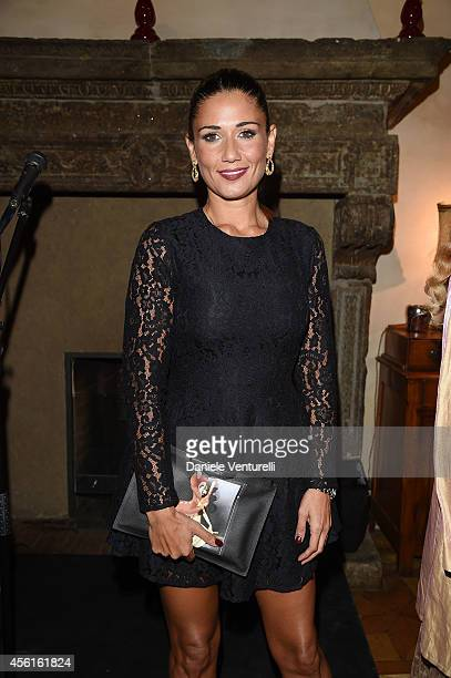 Barbara Tabita attends Ambi Pictures Rome Party at Hostaria dell'Orso - La Cabala on September 26, 2014 in Rome, Italy.