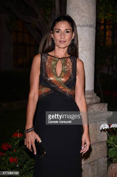 Barbara Tabita attends Day 5 of the 61st Taormina Film Fest on June 17, 2015 in Taormina, Italy.