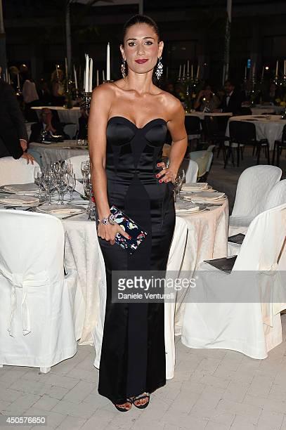 Barbara Tabita attends the Messina terrazza ex Irrera a mare Gala Dinner on June 13, 2014 in Messina, Italy.
