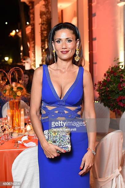 Barbara Tabita attends the World Food Programme Charity Gala Hosted by MASERATI during the 60th Taormina Film Fest on June 15, 2014 in Taormina,...