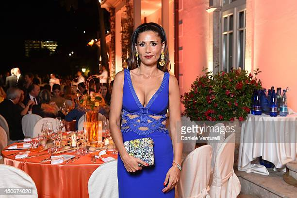 Barbara Tabita attends the World Food Programme Charity Gala Hosted by MASERATI during the 60th Taormina Film Fest on June 15 2014 in Taormina Italy