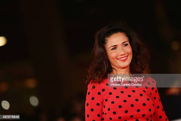 Barbara Tabita walks the red carpet for 'Truth' during the 10th Rome Film Fest at Auditorium Parco Della Musica on October 16, 2015 in Rome, Italy.