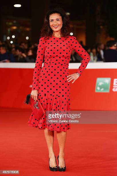 Barbara Tabita walks the red carpet for 'Truth' during the 10th Rome Film Fest at Auditorium Parco Della Musica on October 16 2015 in Rome Italy