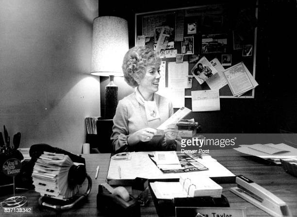 Barbara Taylor at her scorted here after 7 pm' Credit Denver Post