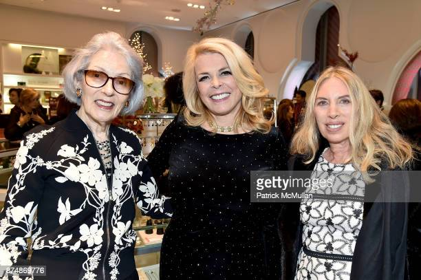 Barbara Tober Betsy McCaughey and Lauren Lawrence attend Barbara Tober hosts a party for AVEDON Something Personal at Museum of Art and Design on...