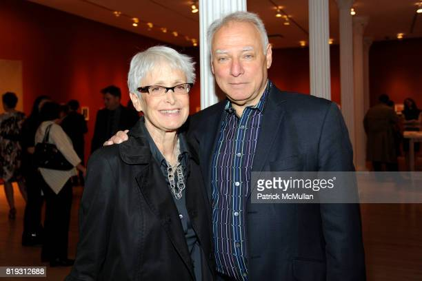 Barbara Toll and Michael Steinberg attend The Drawing Center 2010 Gala at The Drawing Center Tribeca Rooftop on April 21 2010 in New York City