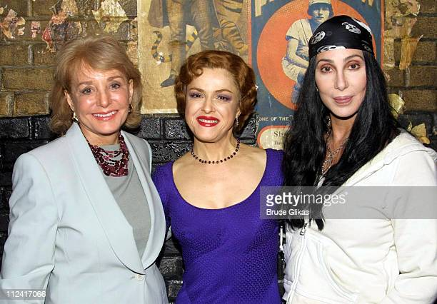 Barbara Walters and Cher visit friend Bernadette Peters backstage at 'Gypsy' *Exclusive*