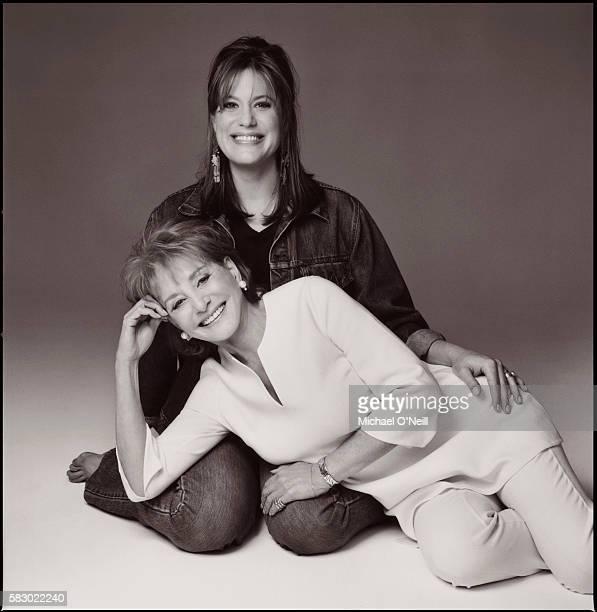 Barbara Walters and Daughter Jackie Danforth