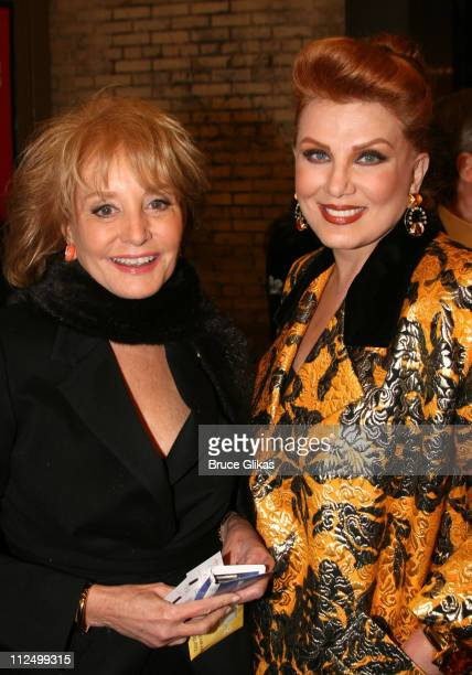 Barbara Walters and Georgette Mosbacher