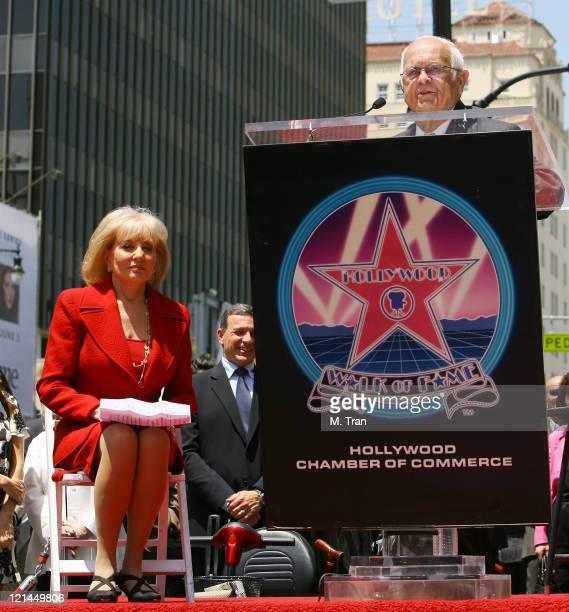 Barbara Walters and Johnny Grant Honorary Mayor of Hollywood