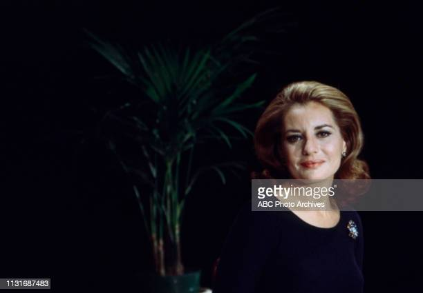 Barbara Walters appearing on the Walt Disney Television via Getty Images tv series 'The Walt Disney Television via Getty Images Comedy Hour' episode...