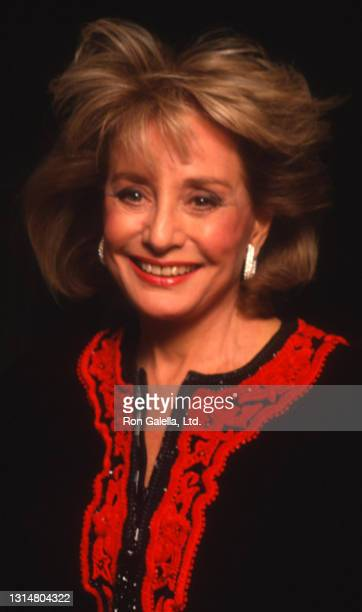 Barbara Walters attends 36th Annual Cerebral Palsy Humanitarian Awards at the Waldorf Hotel in New York City on January 10, 1991.