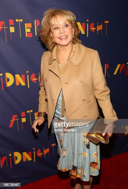 Barbara Walters attends After Midnight Broadway opening night at Brooks Atkinson Theatre on November 3 2013 in New York City