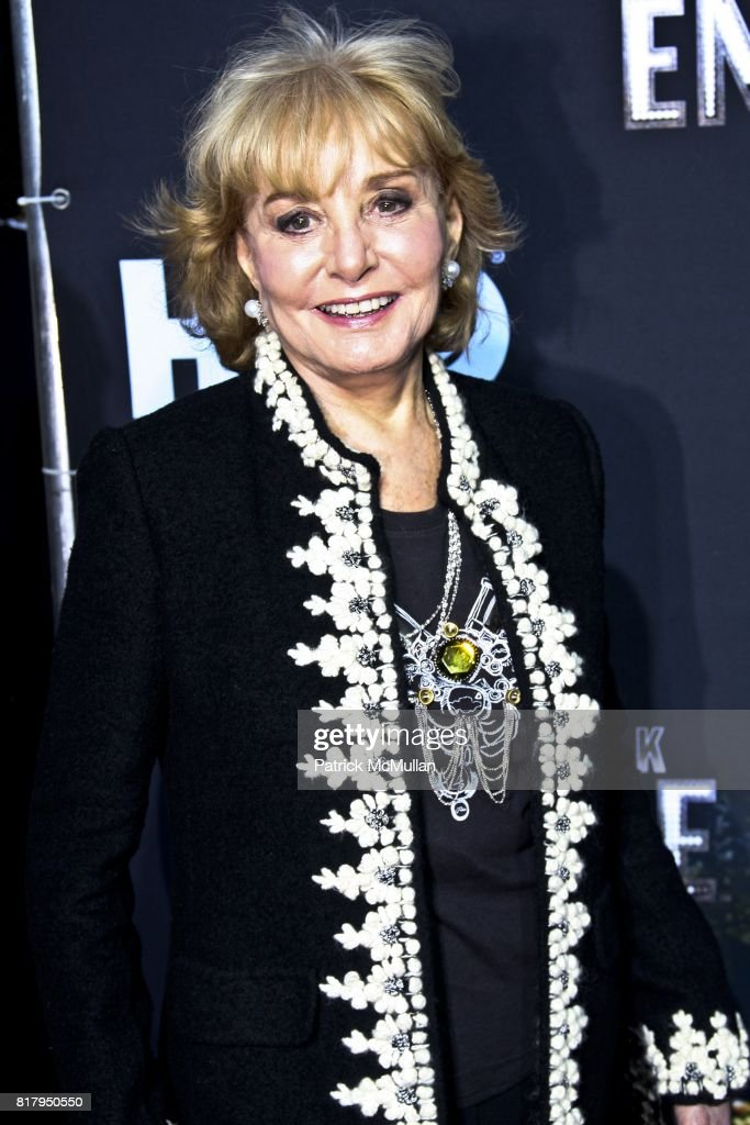 Barbara Walters attends BOARDWALK EMPIRE HBO Series Screening at The Zigfeld Theater on September 15, 2010 in New York City.