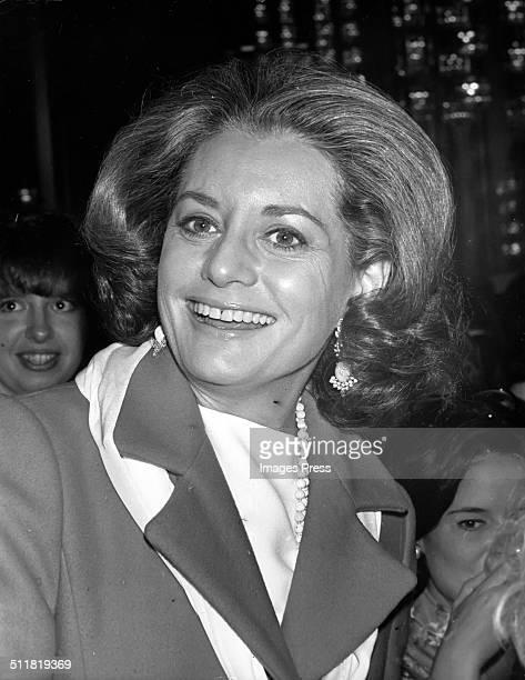 Barbara Walters attends 'From Funny Girl to Funny Lady' at the John F. Kennedy Center for the Performing Arts in Washington, D.C. On March 9, 1975.