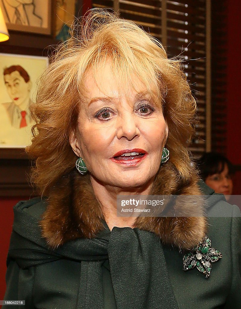 Barbara Walters attends The Deadline Club's New York Journalism Hall of Fame 2013 Luncheon at Sardi's on November 14, 2013 in New York City.